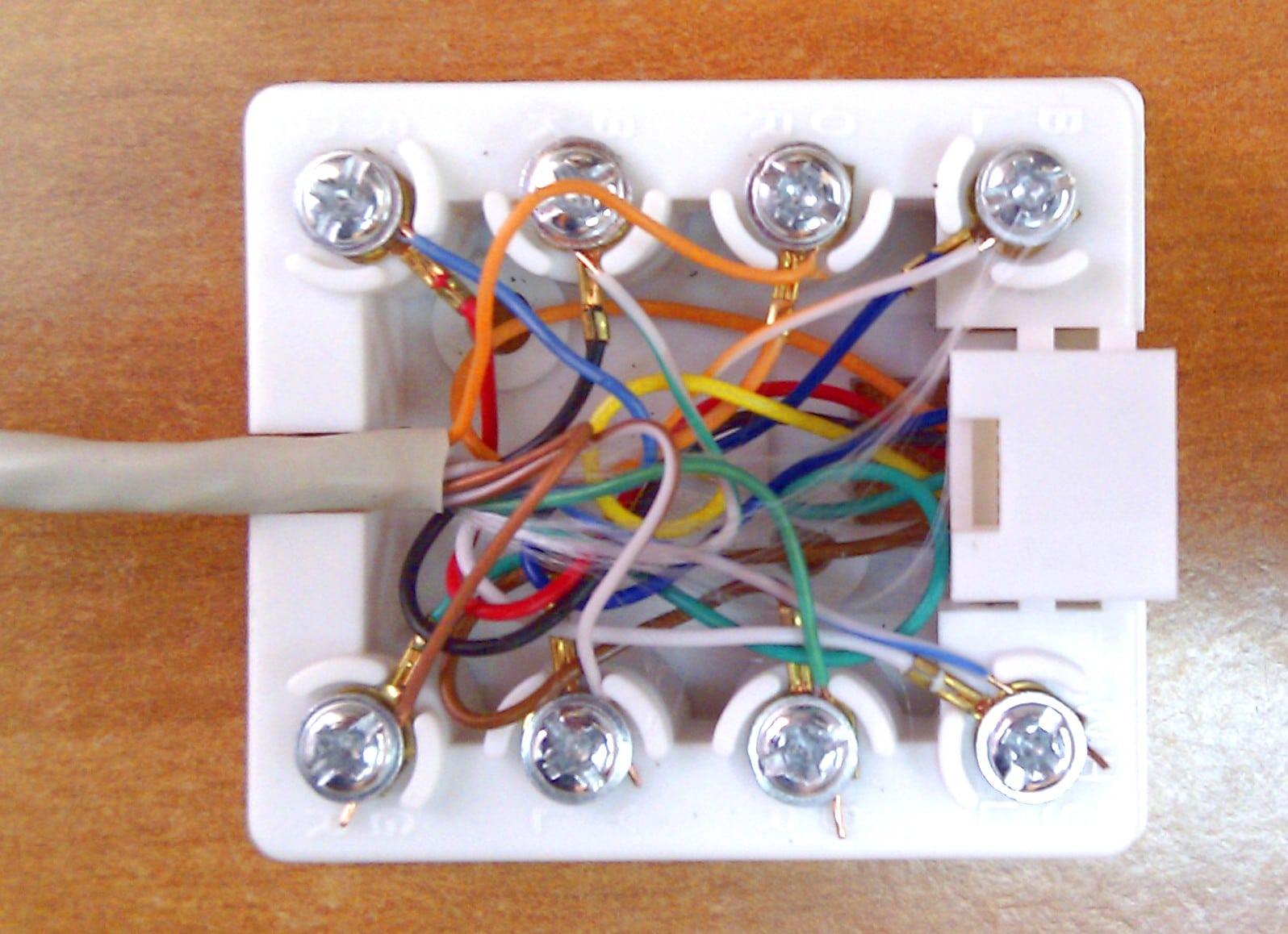 Установка компьютерной розетки своими руками 62